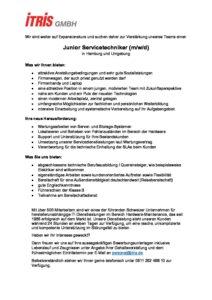 Hamburg Stellenausschreibung